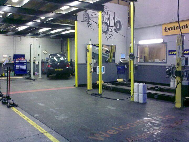 The Garage workshop